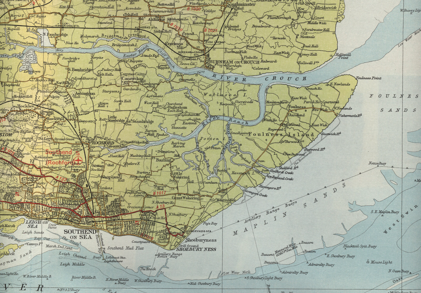 Reproduced from british-coast-maps.com